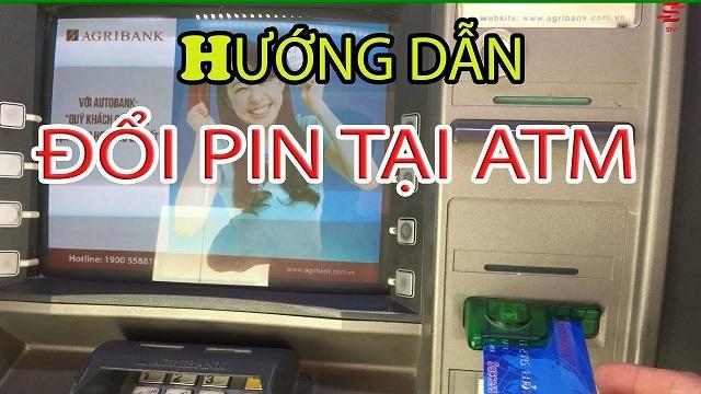 Thực hiện đổi mã Pin sau khi nhận thẻ
